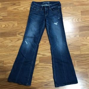 American Eagle Hipster Distressed Jeans